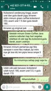testimoni green Coffee Java